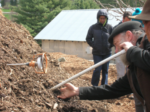 compost checking