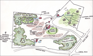 Click to view permaculture design - Harwinton, Connecticut