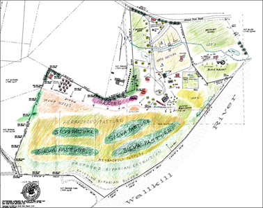 Click to view permaculture design -  New Paltz,  New York