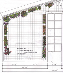 Click to view permaculture design -  Woodland, New Jersey